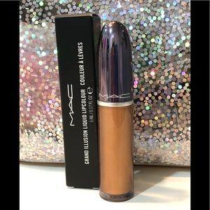 BNIB! MAC Grand Illusion Lip Color In Gilded Age